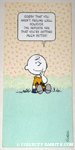 Charlie Brown Get Well Greeting Card