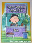 Lucy Doctor's Booth Get Well Greeting Card