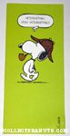Snoopy detective Greeting Card