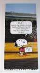 Snoopy 'Bullfighter' Birthday Greeting Card