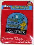 Woodstock under moon 'Trick or Tweet' Favorite Things Pin