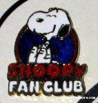 Snoopy Fan Club Pin