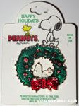 Snoopy on Wreath