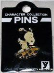 Snoopy on skateboard Yutaka Pin