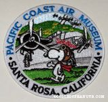 Snoopy Flying Ace at the Pacific Coast Air Museum Santa Rosa Patch