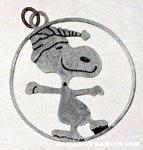 Snoopy skater Pendant