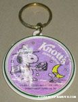 Beaglescout Snoopy & Woodstock Camping Flasher Keychain
