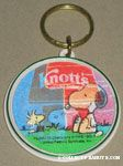 Snoopy and Woodstock at Doghouse Flasher Keychain