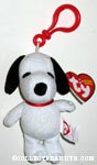 Plush Snoopy with Clip