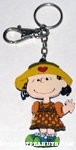 Lucy in checked dress Keychain