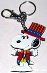 Uncle Sam Snoopy Keychain