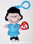 Lucy Plush Bag Clip Keychain