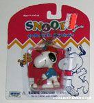 Snoopy Golfing Keychain