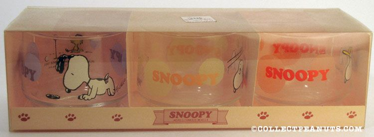 Snoopy sports tumbler Glass set