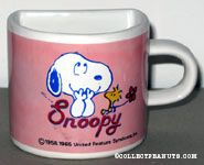 Snoopy and Woodstock Half Mug