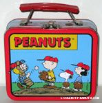 Peanuts Gang on Pitcher's Mound Lunch Box