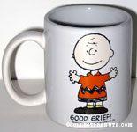Charlie Brown 'Good Grief' Mug