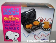 Charlie Brown and Snoopy Snack and Sandwich Maker