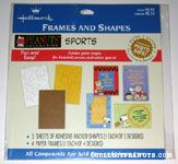 Peanuts Sports Frames and Shapes