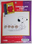 Snoopy with Chocolate Chip Cookies Cross-stitch Kit