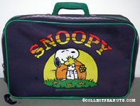 Snoopy and Woodstock hugging Suitcase