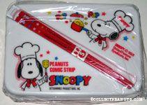 Chef Snoopy making popcorn Bento Box