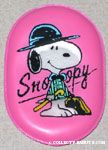 Snoopy in salesman outfit with cane Magnet