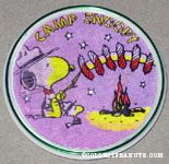 Snoopy and Woodstock by Doghouse Knott's Berry Farm Flasher Magnet