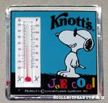 Joe Cool Thermometer Knott's Magnet
