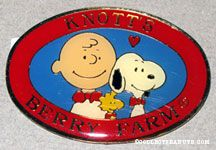 40th Anniversary Logo Knott's Berry Farm Magnet