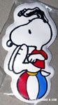 Snoopy balancing on Ball Magnet