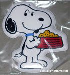 Snoopy holding dog dish Magnet