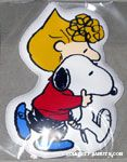 Sally holding Snoopy Magnet