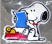 Snoopy at Typewriter Magnet
