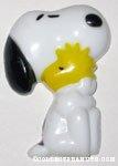 Snoopy hugging Woodstock Magnet