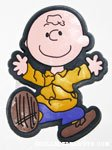 Charlie Brown dancing Magnet