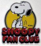 Snoopy Fan Club Magnet