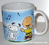 Snoopy and Charlie Brown Scenes Mug