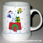 Snoopy on Doghouse with Gifts