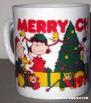 Peanuts Christmas Scene