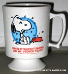Snoopy with dogdish Mug