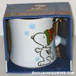 Snoopy skating holiday Mug