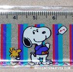 Snoopy & Woodstock singing ruler
