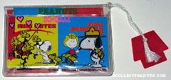 Snoopy & Beaglescouts Schedule folder with 3 notebooks