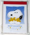 Snoopy hugging Woodstocks Notepad