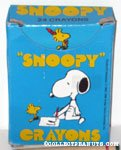 Snoopy box of 24 Crayons - Blue