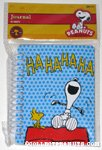 Snoopy & Woodstock laughing Spiral-Bound Journal