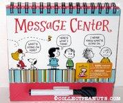 Peanuts Gang Spiral-Bound Message Center