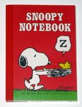 Snoopy carrying Woodstock in nest Notebook