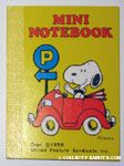 Snoopy in Red Car Notebook